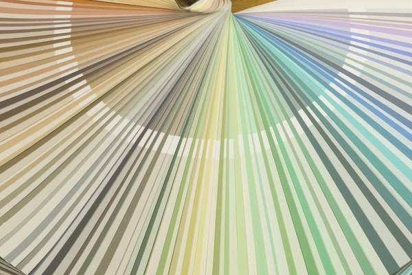 Farbkartenfächer zum Ausleihen