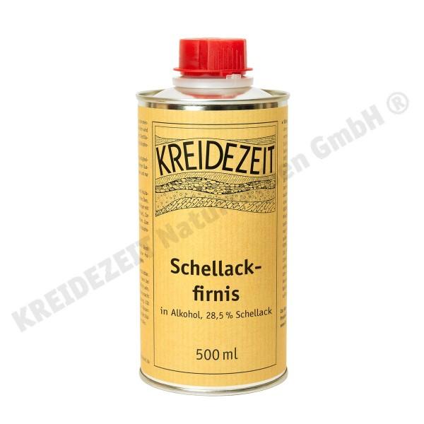 Kreidezeit Schellackfirnis